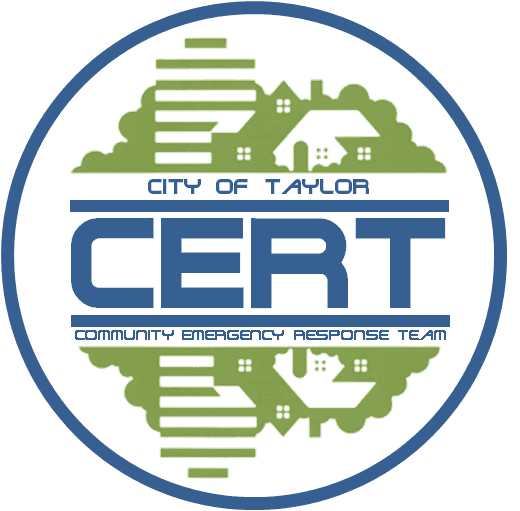 Taylor Michigan CERT Logo