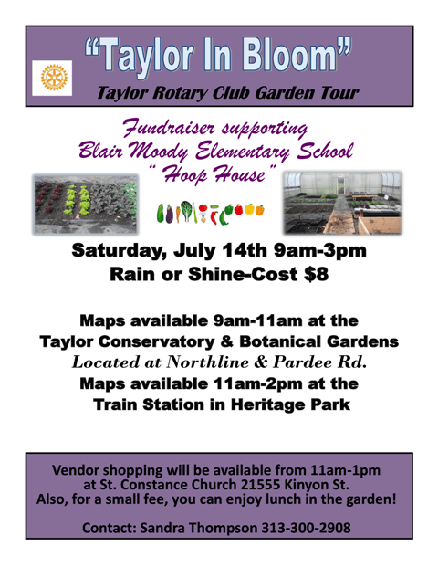 Taylor In Bloom Garden Tour