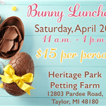 BUNNY LUNCH 1