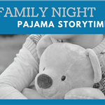 Family night pajama storytime